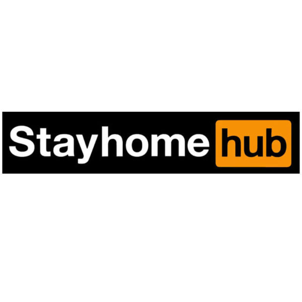 nalepka za avto stay home hub
