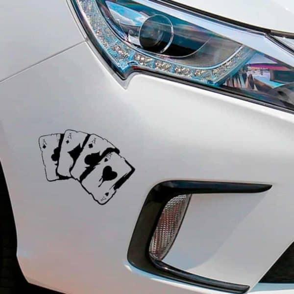 nalepke za avto karte poker