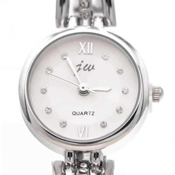 ročne ženske ure QUARTS sistem srebrna barva