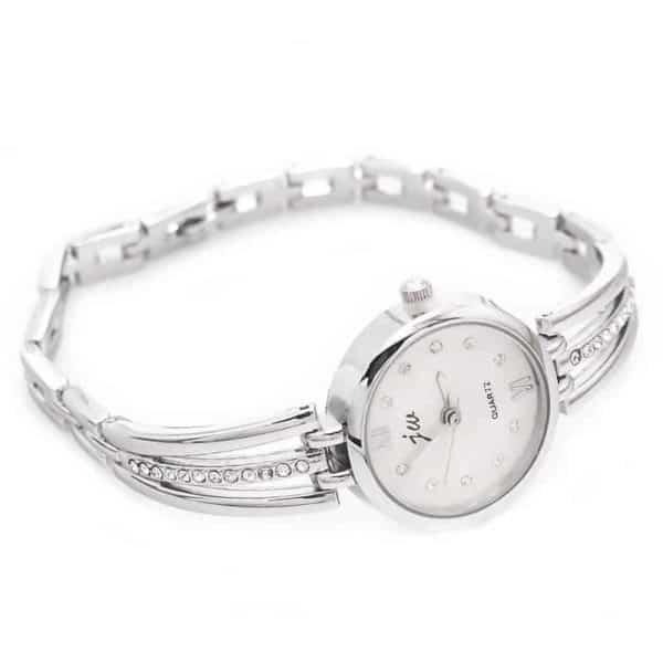 srebrne ženske ročne ure