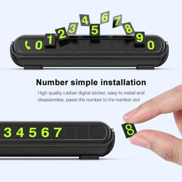 telefonska številka za avto z dišavo