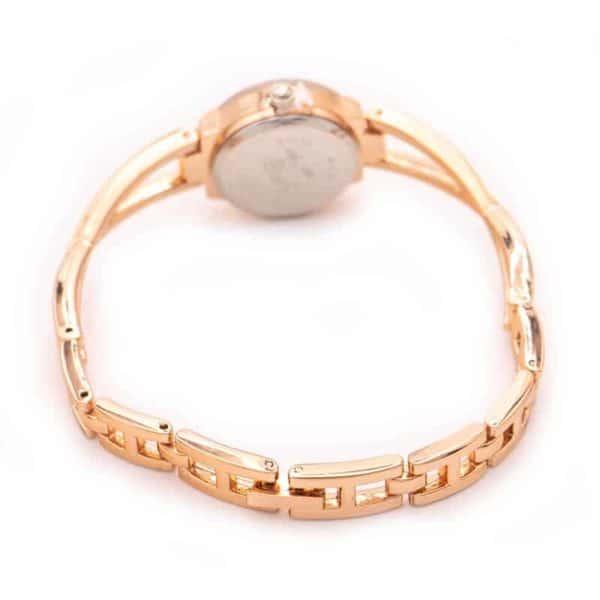 tlata ženska ročna ura z diamanti in hitrim zaklepom