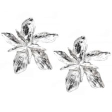 uhani srebrni cvetovi