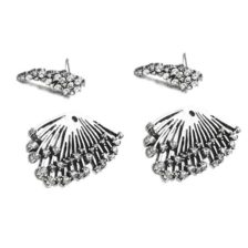 uhani vintage srebrbi za ženske