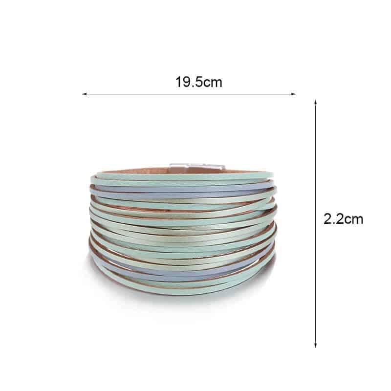 Magnetne zapestnice večplastne 2