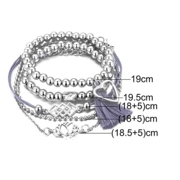 5 delni set zapestnic