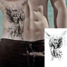 Tattoo nalepka Božji bojevnik