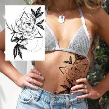 Tattoo za ženske vrtnica
