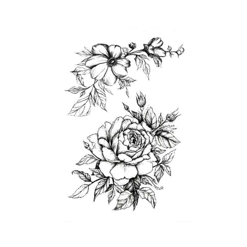Vrtnica tettovaža začasna