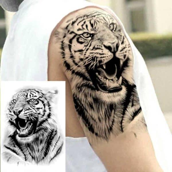Začasni tattoo za roko TIGER
