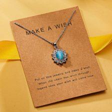 make a wish verižica