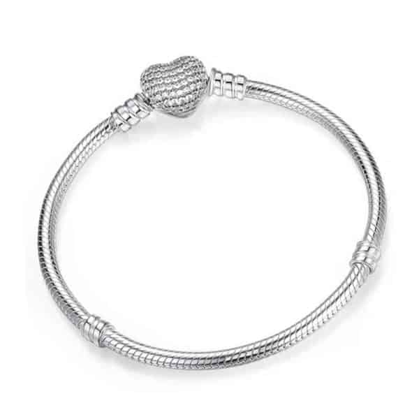 srebrna zapestnica pandora