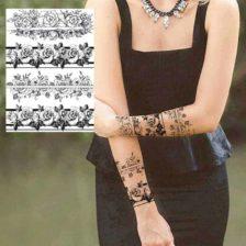 tattoo nalepke vrtnice
