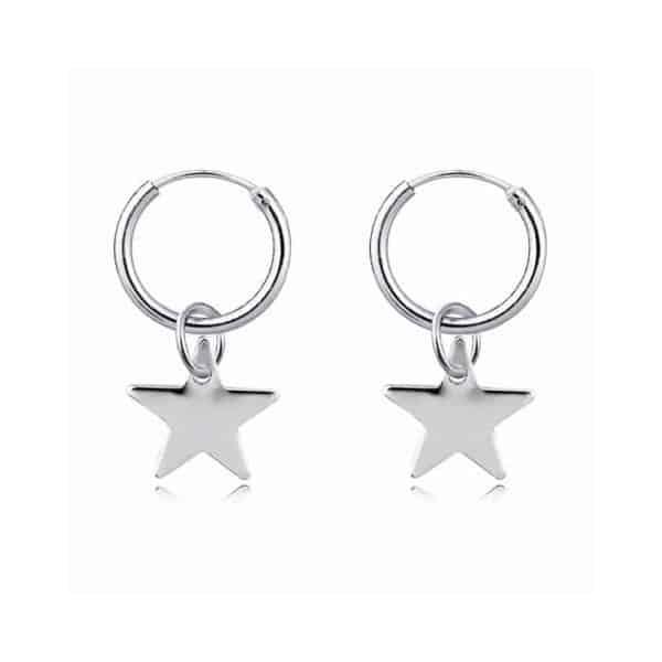 uhani srebrni zvezda