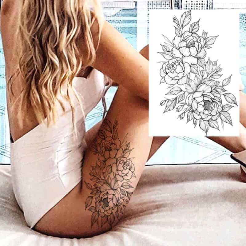 začasne tetovaže vrtnica