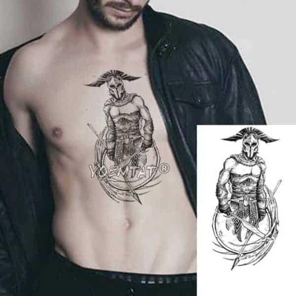 začasni tattoo gladiator