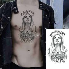 začasni tattoo marija