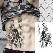 začasni tattoo pogumni bojevnik