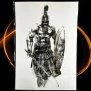 začasni tattoo spartan