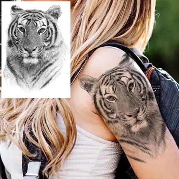 začasni tattoo tiger