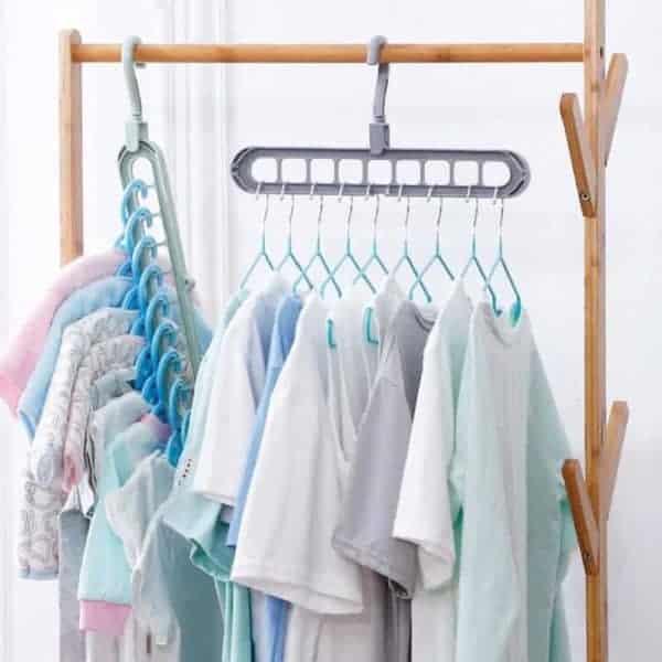 Obešalnik za oblačila način uporabe