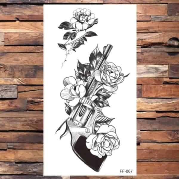 Tattoo Pištola z vrtnico