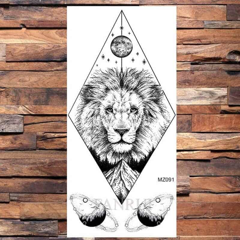 Tattoo levji kralj
