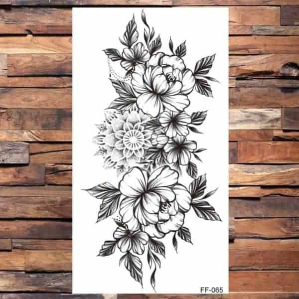 Tattoo nalepka za ženske vrtnice