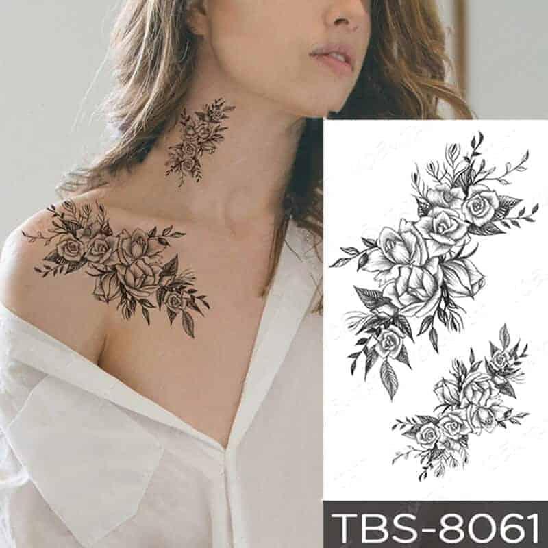 Tattoo nalepki vrtnici