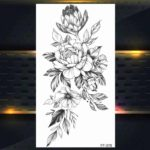 Vrtnice začasne tetovaže