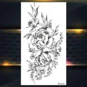 Vrtnice začasni tatuji