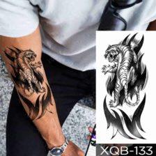 Začasni tattooji za roko tiger