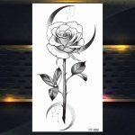 Ženski tattoo vrtnica