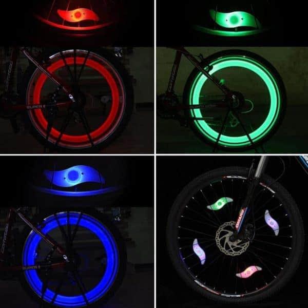 barvne luči za kolo
