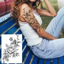 fake tattoo vrtnica