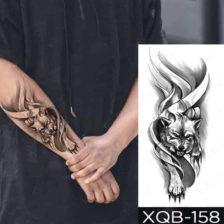 tattoo nalepke mogočni volk