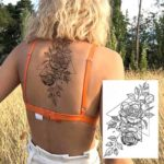 tattoo vrtnica začasna nalepka