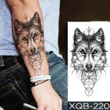 volk začasni tattoo za roko