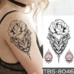 vrtnica tattoo geometrijska