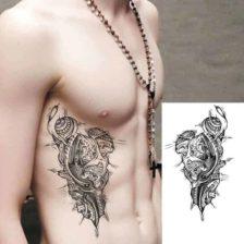 začasne tetovaže notranjost telesa