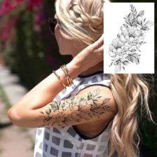 začasni tattoo nalepke vrtnici