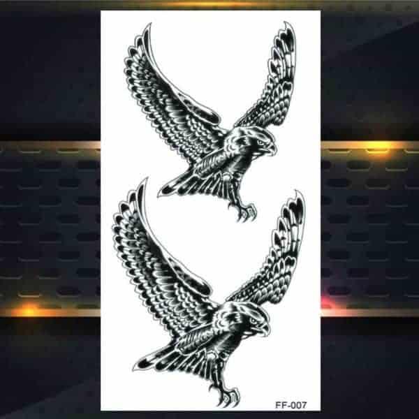 začasni tattoo orel