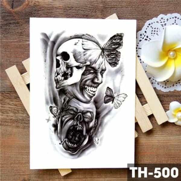 začasni tattoo undead