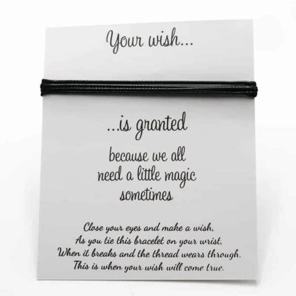 zapestnica prijateljstva your wish is granted