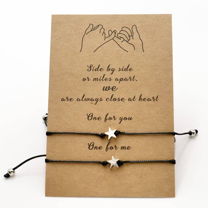 zapestnice za prijatelja zvezde pinky promise