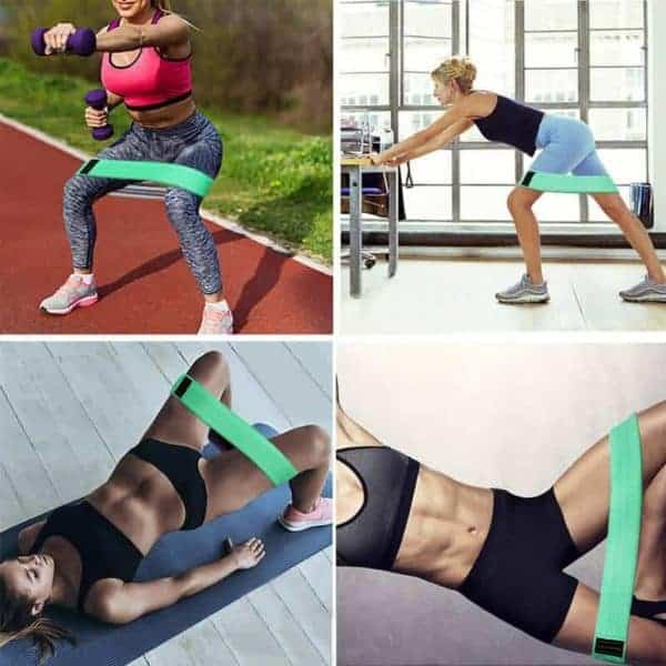 Elastika za vadbo fitness oprema uporaba