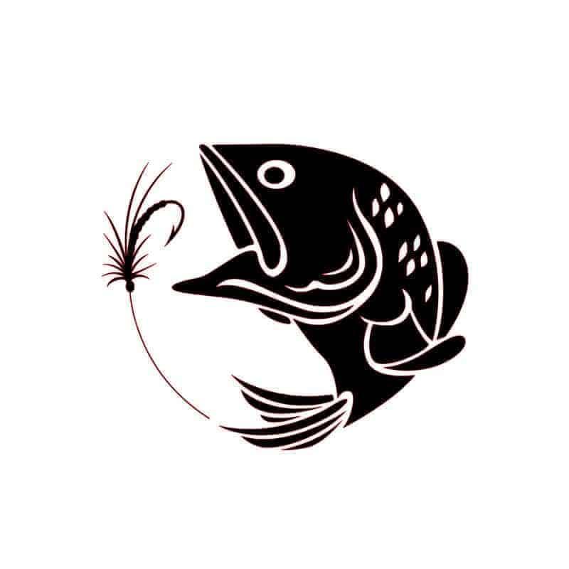 Nalepka za avto riba