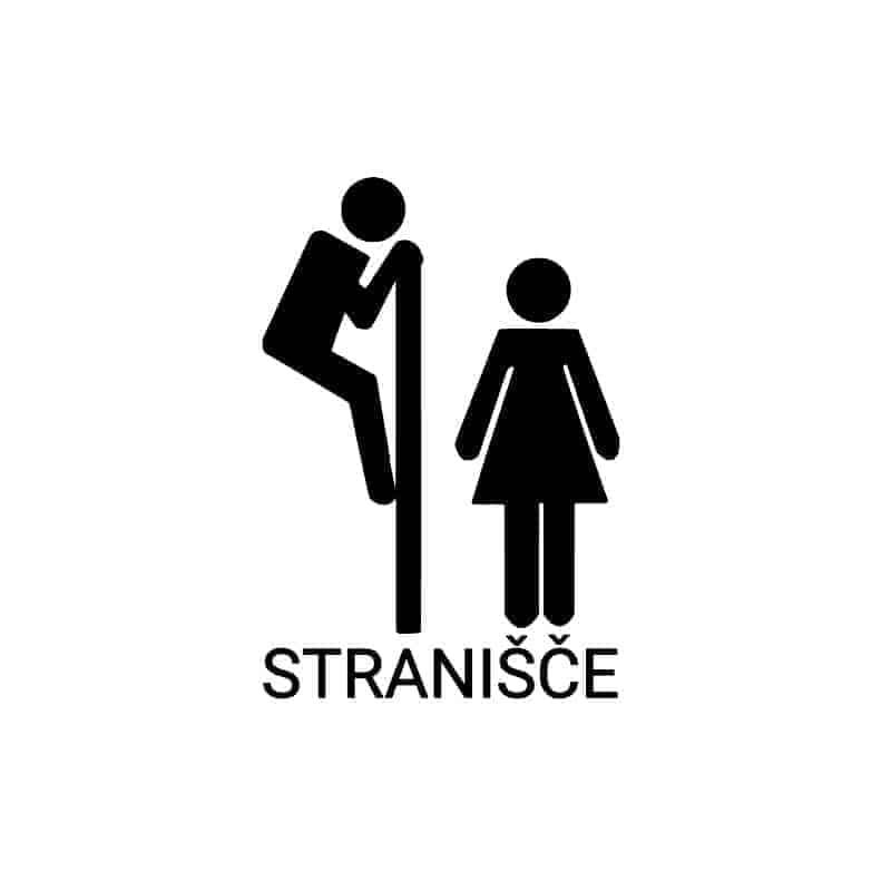 Smešne oznake za wc stranišče