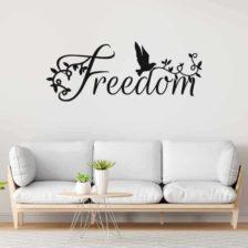 Stenska nalepka freedom