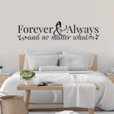 Stenska nalepka za spalnico